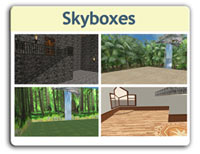 Skyboxes: A beautiful space to meet your every SL need.